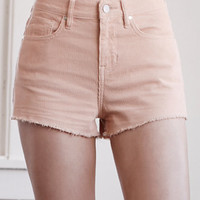 Kendall & Kylie Blush Corduroy High Rise Cutoff Shorts at PacSun.com