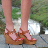 Wishful Wedge- Cognac