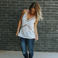 Happy Hour Tank - White