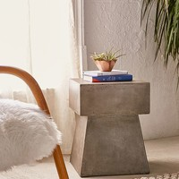 Concrete Side Table | Urban Outfitters