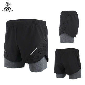 Breathable 2016 Men's Sports Running Shorts Training Jogging Active Shorts Quality Dry Crossfit Shorts