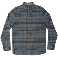 Shop Hippy Tree Menlo L/S Button Down Flannel in Heather Grey | Jack's Surfboards