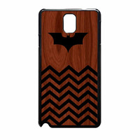 Batman And Black Chevron Samsung Galaxy Note 3 Case