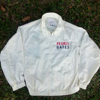 Pearly Gates jacket windbreaker bomber hip hop vintage