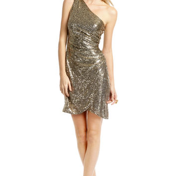 Trina Turk Gold Tulip Dress