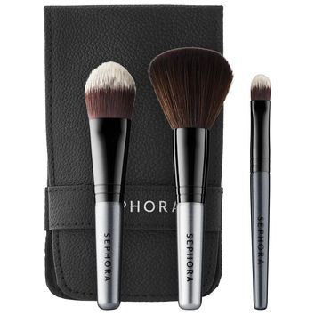 Sephora: SEPHORA COLLECTION : Ready in 5 Face Brush Set : face-brushes-makeup-brushes-applicators-makeup