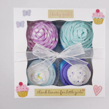 Girl Baby Gift 12 piece set Baby gift for Girl 3 month - purple