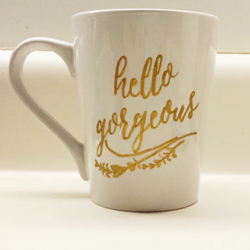 Hello Gorgeous 14 oz Mug