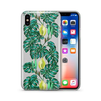 Monstera - Clear Case Cover Phone Case