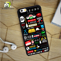 Friends Tv Show iPhone 6 Case by Avallen