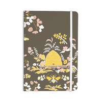 """Very Sarie """"Hope for the Flowers II"""" Yellow Brown Everything Notebook"""