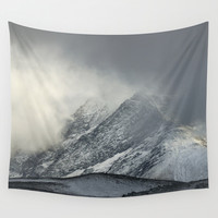 """""""The Mountain"""" Wall Tapestry by Guido Montañés"""