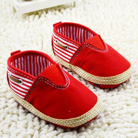 Baby Boy Striped Shoes