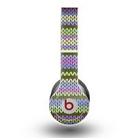 The Colorful Knit Pattern Skin for the Beats by Dre Original Solo-Solo HD Headphones