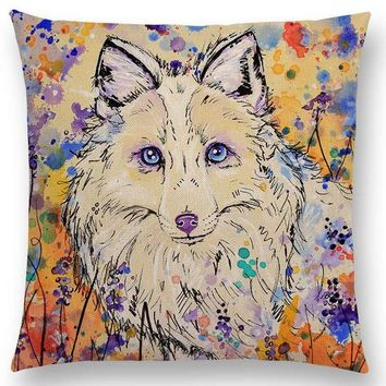 Pumelo Tree Dog Pillow Case