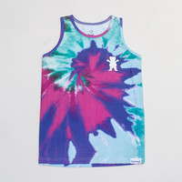 Digi Tie-Dye Tank in Cotton Candy