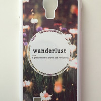 Wanderlust Android Galaxy Case