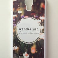 Wanderlust Android Galaxy Case - Samsung Galaxy