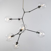 The Future Perfect - Branching Series, 7-Bubble Chandieler Version I - Lighting
