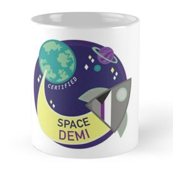 'Space Demi' Mug by cfpepperz11