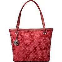 Relic Heather Signature Logo Tote (Red)