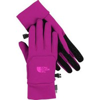 The North Face Women's Etip Gloves Glo Pink