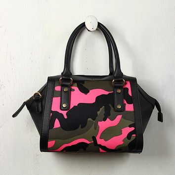 Camouflage Hexagon Bag