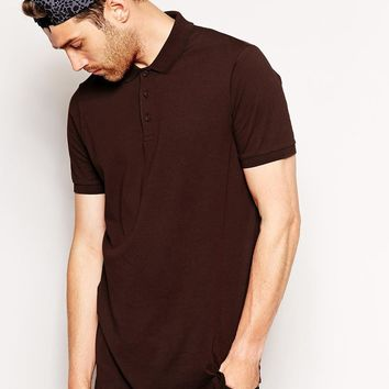 ASOS Longline Polo