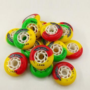 Inline Speed Skating Shoes Wheels Kids/Adults Replace Wheels 72mm 76mm 80mm Professional Roller Skates Wheels
