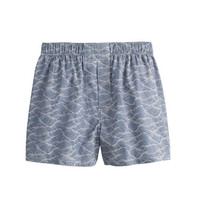 J.Crew Mens Japanese Wave Boxers