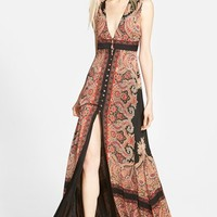 Women's Missguided Button Front Maxi Dress,