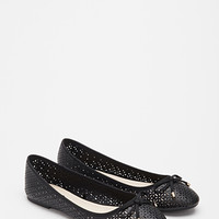 Perforated Ballet Flats