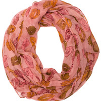 With Love Infinity Scarf - Pink