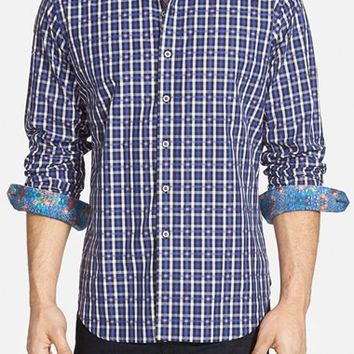 Men's Robert Graham 'Freeboarding' Classic Fit Sport Shirt,