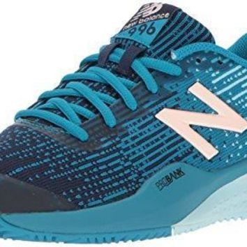 new balance women s clay court 996 v3 tennis shoe