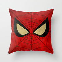 Spider-Man: With great power ... Throw Pillow by Itomi Bhaa