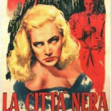 Dark City La Citta Nera Italian movie poster Sign 8in x 12in