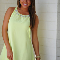 Back By My Side Dress: Pale Green | Hope's