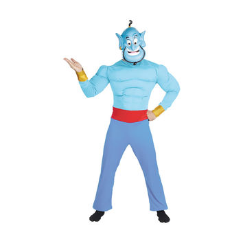 Morris Costumes Halloween Genie muscle chest adult