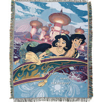 Disney Aladdin Jasmine Tapestry Throw Blanket