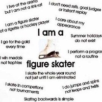 Figure Skating T-Shirt I Am A Figure Skater Tee Ice Skating Hoodie Long Sleeve