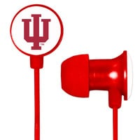 Indiana Hoosiers Scorch Earbuds + Mic with BudBag