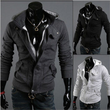 Men's Fashion Men Hats Hoodies Plus Size Jacket [6528874179]