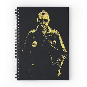 'Taxi Driver - The Legend' Spiral Notebook by Naumovski