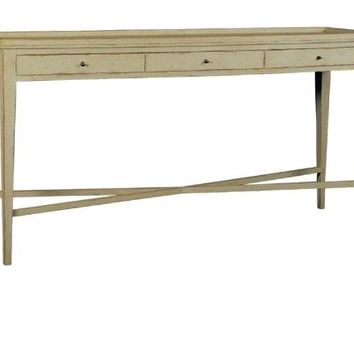Console with three drawers