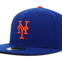 New York Mets MLB Authentic Collection 59FIFTY Cap