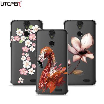UTOPER Cover For Vernee Thor Case Hard Plastic Protective Fashion Printed Shell For Vernee Thor Case Cover Shockproof Back Capa