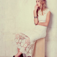 Free People Womens Jill s Corsage Dress