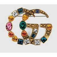 Gucci sexy retro diamond brooch
