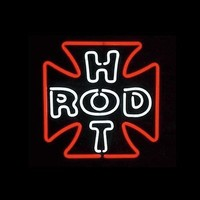 Hot Rod Neon Sign
